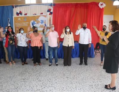 Interior y Policía juramenta en Dajabón Mesas Locales de Seguridad, Ciudadanía y Género