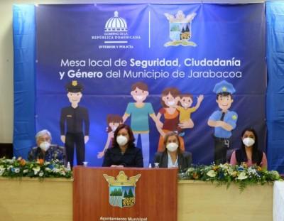 Juramentan integrantes de las Mesas Locales de Seguridad, Ciudadana y Género en La Vega
