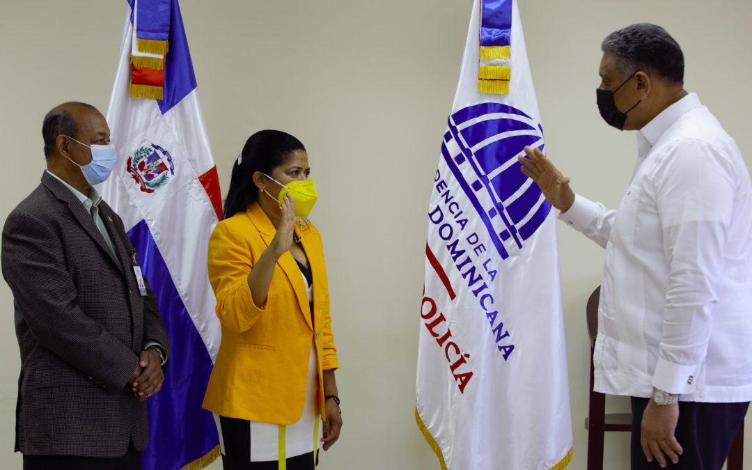 Designan a María Benoit  nueva directora regional Coba en Santiago