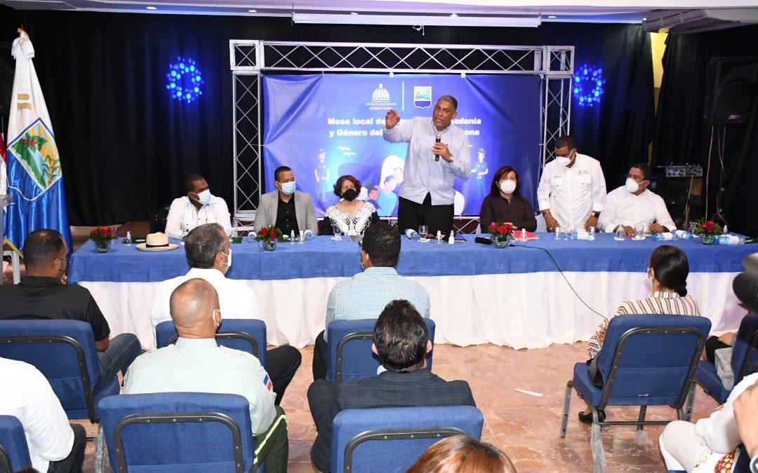 Liderazgo político, social, religioso y empresarial de Barahona dan su apoyo a la Estrategia de Seguridad Ciudadana