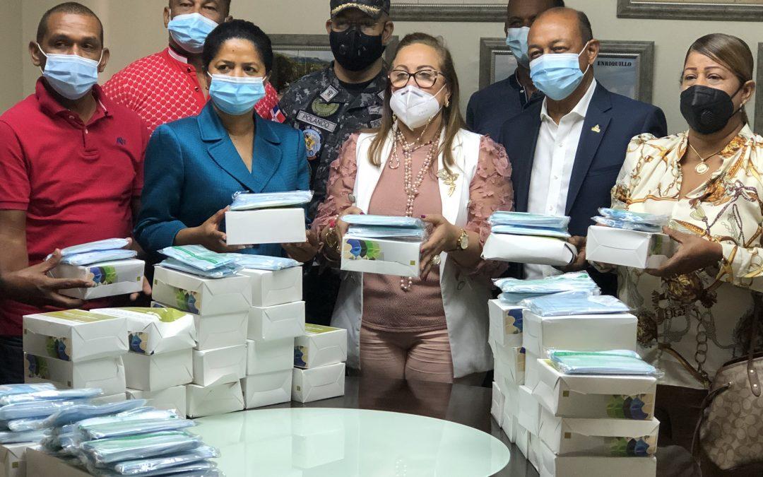 Comerciantes de Santiago acuerdan con el COBA tomar medidas preventivas contra el covid-19