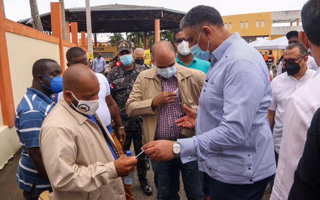 Ministro de Interior y Policía afirma que ya comienza a verse el cambio en Cristo Rey