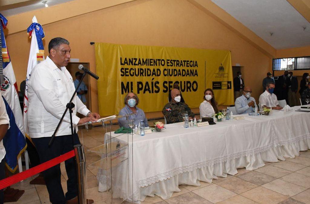 """El Gobierno lanza Estrategia de Seguridad Ciudadana """"Mi País Seguro"""""""