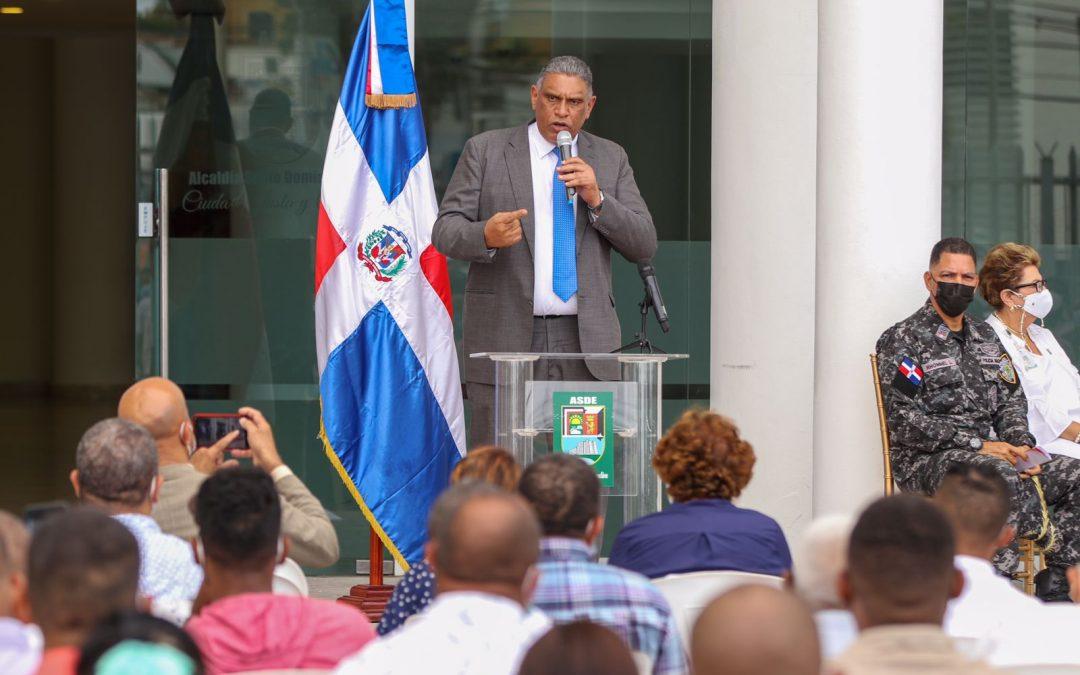 Interior y Policía y Ayuntamiento de Santo Domingo Este juramentan Comités Vecinales de la Mesa de Seguridad, Ciudadanía y Género