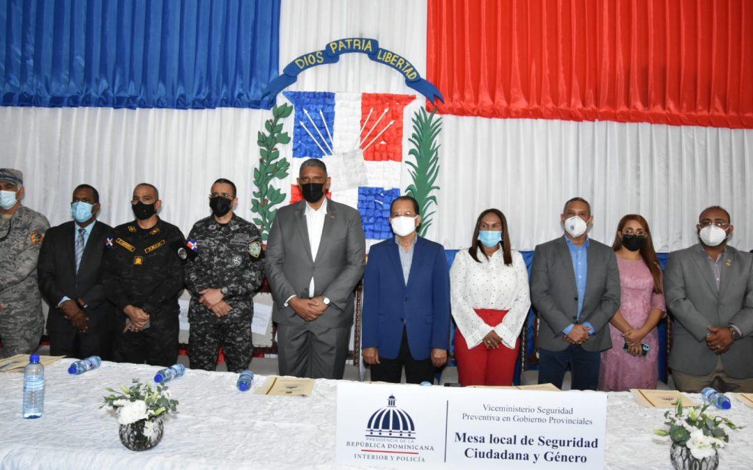 Organismos de seguridad del Estado intervendrán San Francisco de Macorís