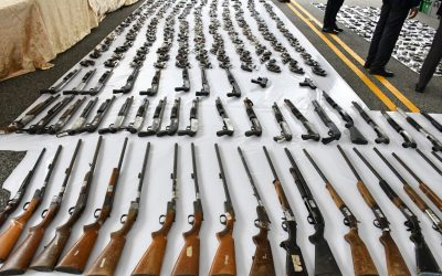 La OEA concluye de manera exitosa   proceso destrucción de armas realizado por Interior y Policía
