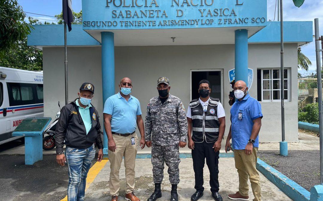 Interior y Policía continúa fiscalización de billares y parques en Puerto Plata
